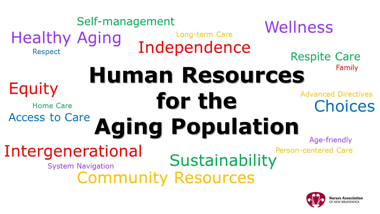 Human Resources for the Aging Population