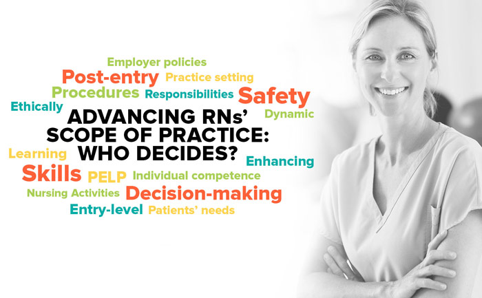 Advancing RNs' Scope of Practice: Who decides?